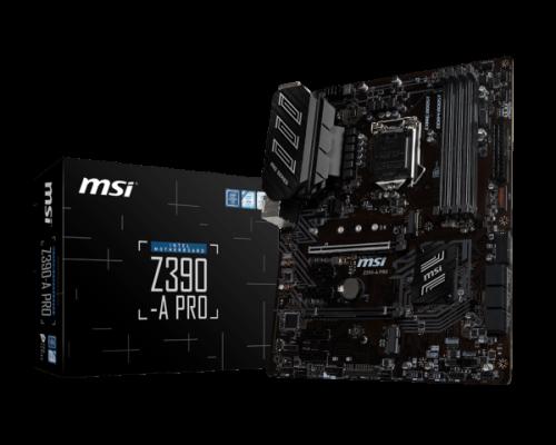 Z390-A-Pro-Intel-Z390-Mainboard-Sockel-1151-500x400