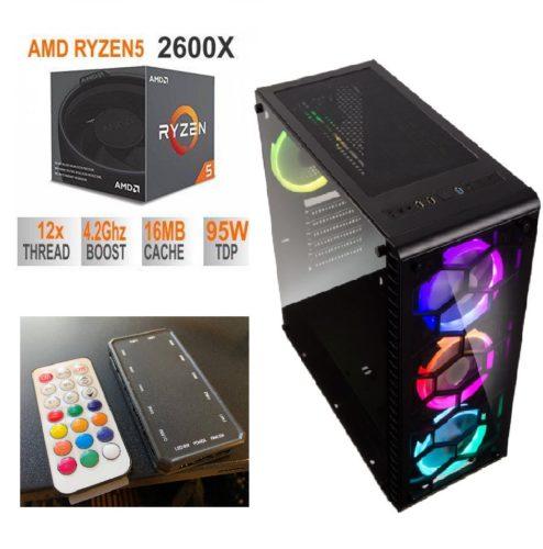 Mänguri-arvuti-RYZEN-5-2600X-Kuni-4.2GHz-16GB-DDR4-RAM-GTX1060-6GB-480GB-SSD-WIFI-Must-494x500