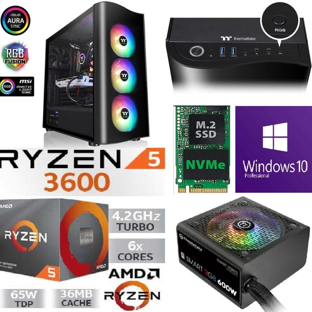 Mängur-AMD-Ryzen-5-3600-4.4Ghz-boost-SSD-500GB-M.2-NVMe-GTX-1660-6GB-RAM-16GB-DDR4-3200MHz-1-1000x1000