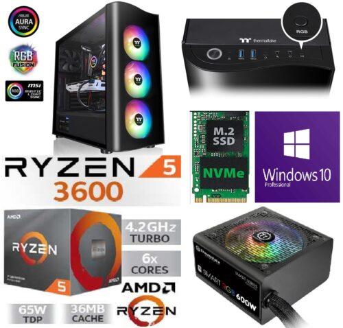 Mängur-AMD-Ryzen-5-3600-4.4Ghz-boost-SSD-500GB-M.2-NVMe-GTX-1660-6GB-RAM-16GB-DDR4-3200MHz-1-500x478