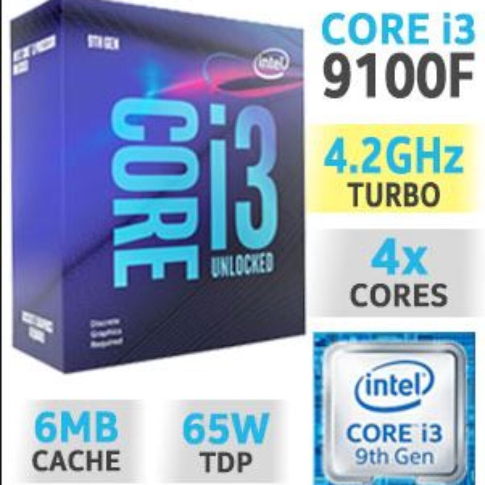 Mänguri Lauaarvuti Komplekt i3 4.2GHz Boost | GTX 1650 8GB | 16GB RAM | 512GB SSD + MONITOR FHD 1080P
