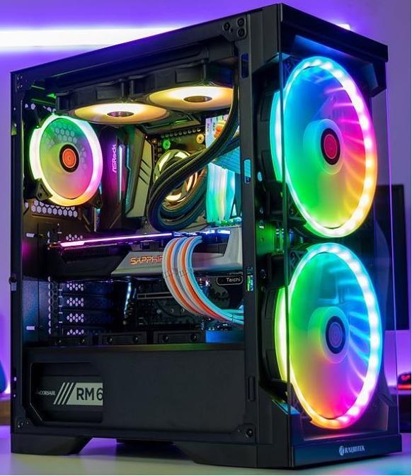 Mängur Ryzen 5 3600 kuni 4.2Ghz, GTX 1660 SUPER GAMING X, RAM 16GB 3600MHZ, 500GB SSD M.2 NVMe, Motherboard B450M PRO4-F AM4 4DDR4, CORSAIR HX750