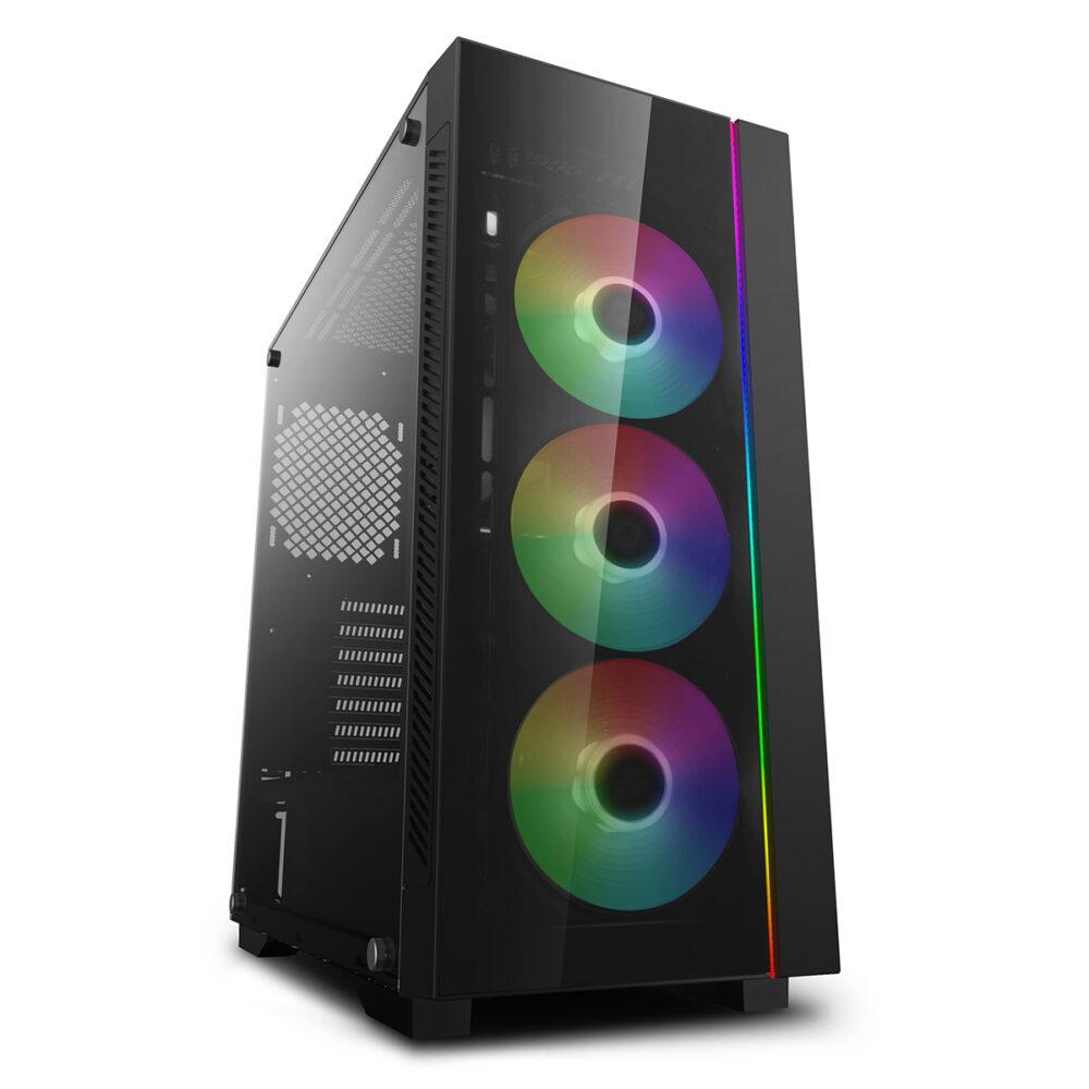 AMD Ryzen™ 5 3600 (6c12t, kuni 4.4Ghz, 32Mb), SSD 500GB M.2 NVMe, RAM 3200MHz CL16 8GB, KUMER MONITOR 24″ 1920×1080 / 144hz / Vesa, GRAAFIKA AMD R380 4GB (KASUTATUD), Klaviatuur + Hiir +kõrvaklapid + Hiirematt, Veebikaamera, Bluetooth, WIN 10 PRO