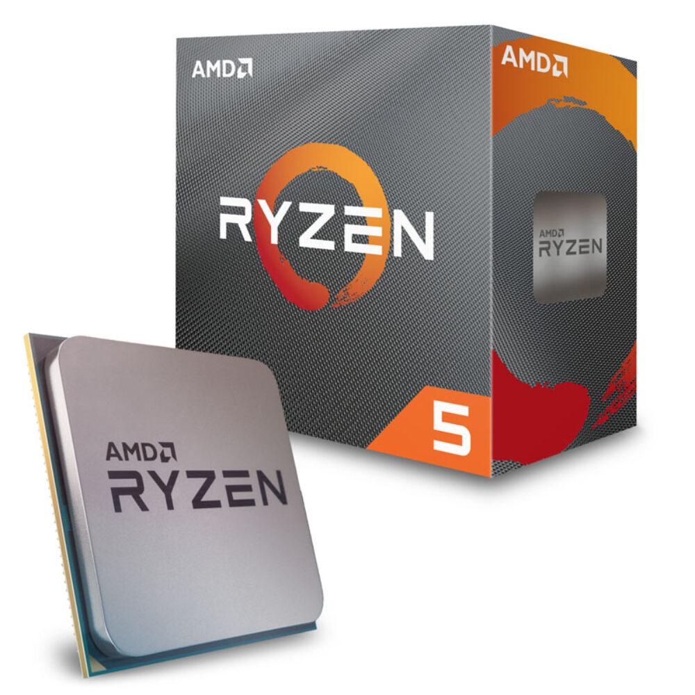 AMD RYZEN 5 3600 kuni 4.2ghz 6 tuumaline, RAM 16GB 3600mhz RGB, SSD M.2 500GB SAMSUNG EVO PLUS, WIFI, BLUETOOTH, 600W